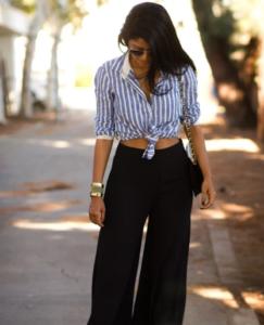 shirts & palazzo pants
